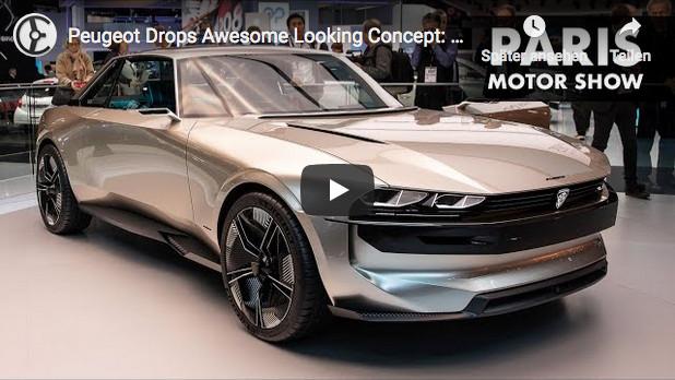 Peugeot E-Legend auf der Paris Motor Show 2018