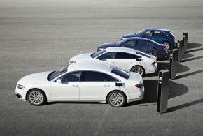 Plug-in-Hybrid-Offensive von Audi mit den Modellen Q5, A6, A7 und A8