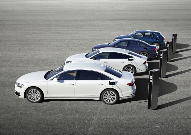 Audi Q5, A6, A7 und A8 - Die neuen Plug-in-Hybrid-Modelle