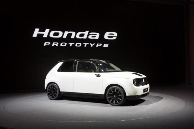 Honda e Protototype auf dem Genfer Autosalon 2019