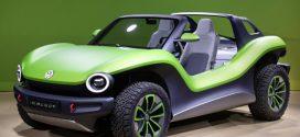 Bilder vom rein elektrischen ID. BUGGY von Volkswagen