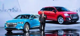 Audi Q2L e-tron – Kompaktes Elektro-SUV feiert Weltpremiere auf der Auto Shanghai 2019