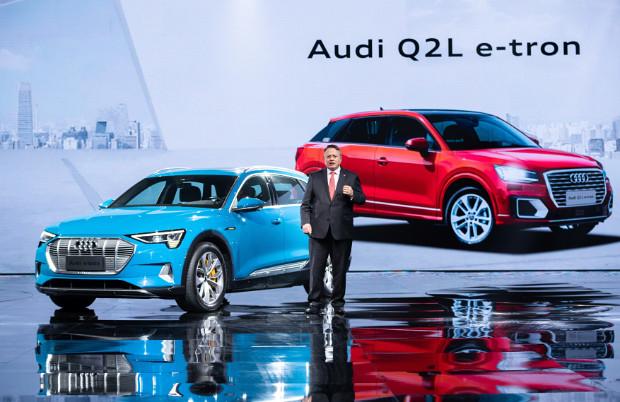 Audi Q2L e-tron für China