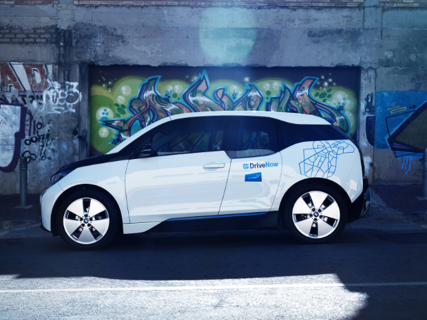 SHARE NOW - BMW i3 Elektroauto
