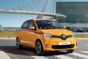 Renault Twingo mit neuer Optik und zwei Benzinmotoren mit 100 g/km CO2-Emission