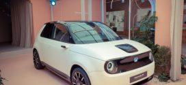 Neues Elektroauto heisst Honda e und Honda Jazz Hybrid kommt wieder