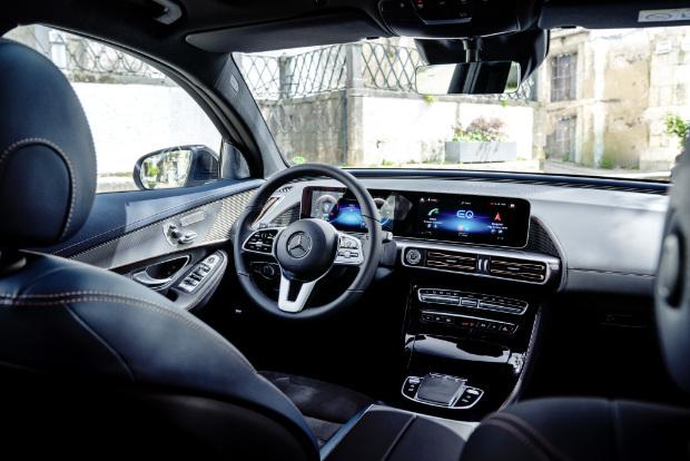 Mercedes-Benz EQC - Innenraum