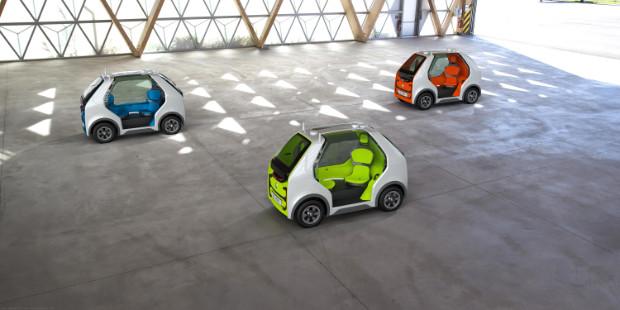 Renault EZ-POD Mikromobile