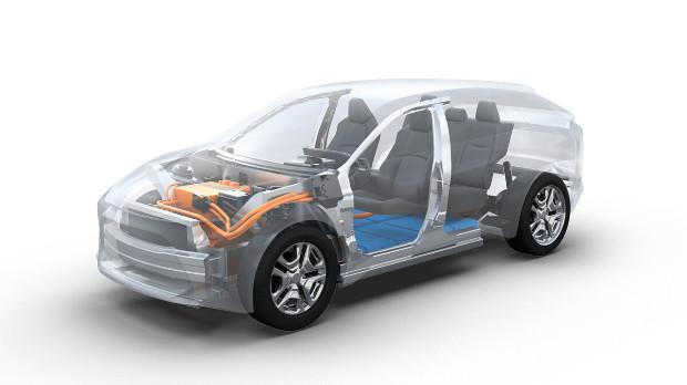 Geplantes Elektro-SUV von Toyota und Subaru