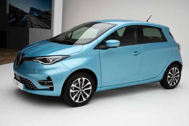 Neues Renault ZOE Elektroauto
