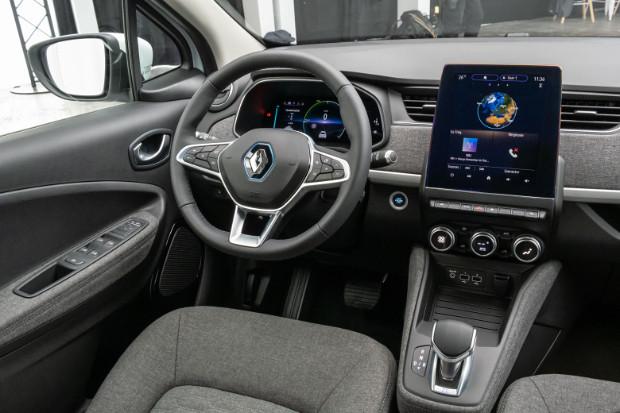Neuer Renault ZOE Innenraum