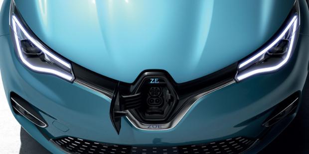 Renault ZOE Ladeanschluss