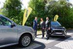 Hertz erweitert Fahrzeugflotte um 50 Mitsubishi Outlander Plug-in-Hybrid
