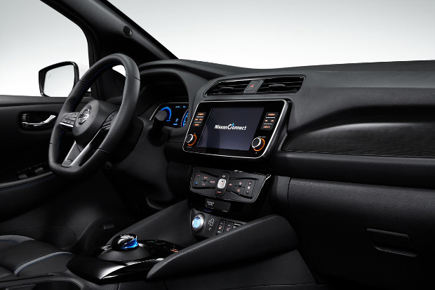 Nissan LEAF 2019 Modelljahr - Innenraum