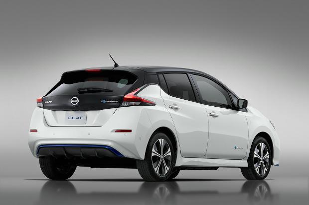 Nissan LEAF mit 62-kWh-Batterie