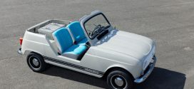 Renault 4 e-Plein Air: Umbau des R4 zum Showcar mit Elektroantrieb