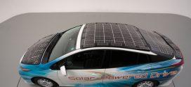 Toyota testet Prius Plug-in-Hybrid mit integrierten Solarzellen