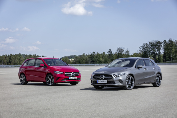 Mercedes-Benz Plug-in-Hybrid A 250 e und Mercedes-Benz Plug-in-Hybrid B 250 e
