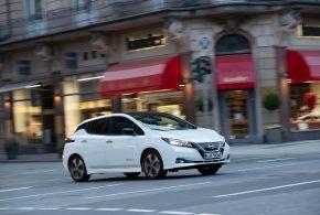 Nissan bietet für das Elektroauto LEAF ein Top-Leasingangebot