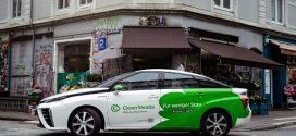 Toyota Mirai Modelle bei CleverShuttle knacken die 2 Millionen Kilometer Marke