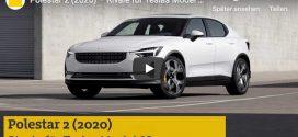 Polestar 2: Kommt 2020 das bessere Elektroauto?