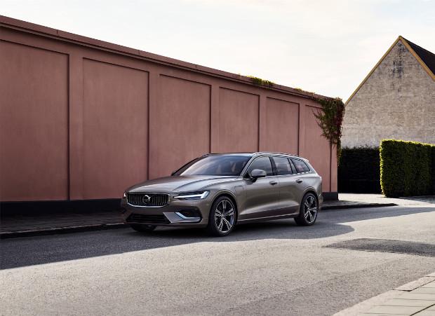 Volvo V60 T6 Twin Engine AWD: Weiterer Plug-in-Hybridantrieb für den Kombi