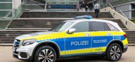 Mercedes-Benz GLC F-CELL Brennstoffzellenauto für die Hamburger Polizei