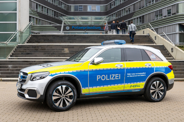 Mercedes-Benz GLC F-CELL Polizeiauto