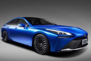 Ausblick auf die zweite Modellgeneration des Brennstoffzellen-Pkw Toyota Mirai