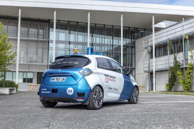 Renault ZOE - Autonom Fahrendes Robo-Taxi