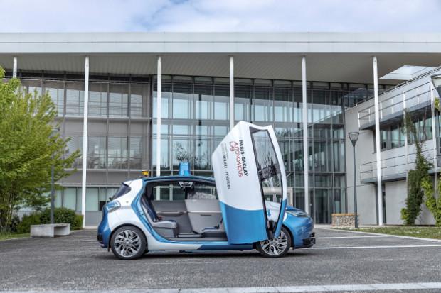 Renault ZOE - Robo-Taxi mit Scherentür