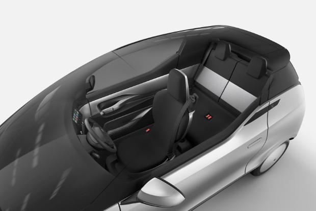 Uniti One Elektroauto - Innenraum