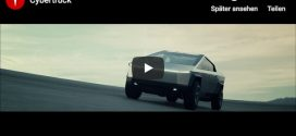 Video-Teaser zum Tesla Cybertruck