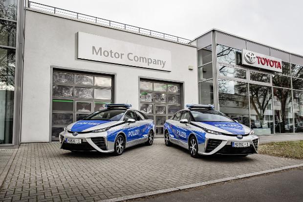 Toyota Mirai Polizeiautos