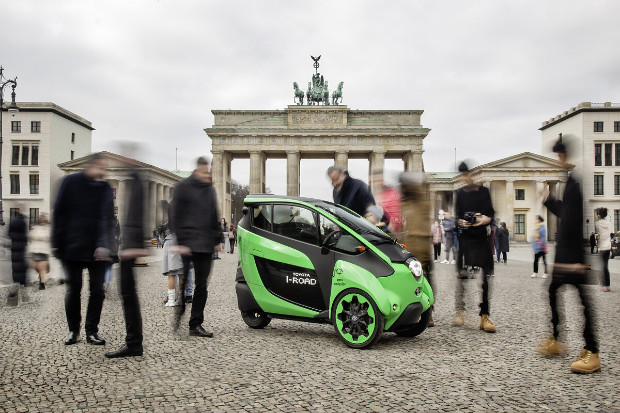 Toyota i-Road in Berlin