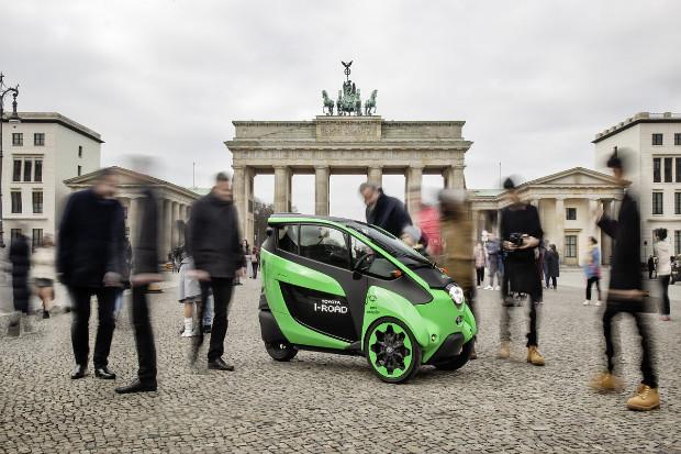 Toyota i-Road in Berlin
