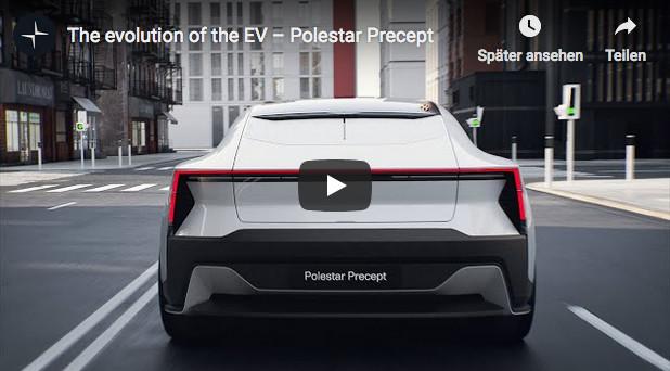 Polestar Precept: Sportlich-elegantes E-Auto mit vielen nachhaltigen Materialien