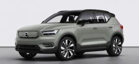 Volvo XC40 Recharge P8 AWD: Rein elektrisches Kompakt-SUV ab sofort bestellbar