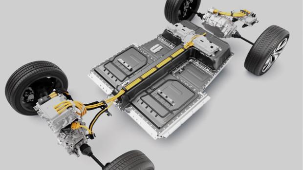 Volvo XC40 Recharge P8 AWD - Plattform