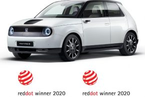 Best of the Best: Honda e mit dem Red Dot Design Award ausgezeichnet