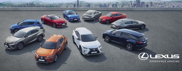 2020 Lexus Hybrid-Modelle