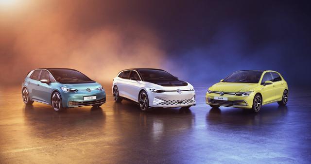 VW ID.3, ID. SPACE VIZZION und VW Golf ausgezeichnet