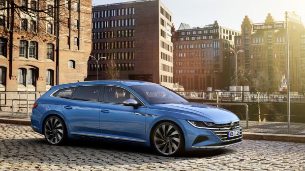 Seriennnahe Studie - Volkswagen Arteon Shooting Brake Elegance