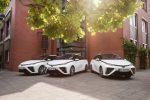 3 Toyota Mirai für die Stadt Hürth