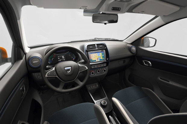 Dacia Spring Electric - Innenraum