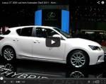 Video: Lexus CT 200h auf dem Genfer Autosalon 2011