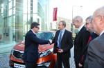 Übergabe des 500.000ten LPG-Fahrzeugs in Deutschland