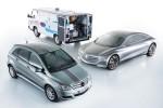 Elektrofahrzeug mit Brennstoffzelle von Mercedes-Benz im Wandel der Zeit