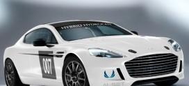 Premiere: Alset Global Wasserstoff-Hybridsystem im Aston Martin Rapide S Rennwagen