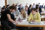 Teilnehmer der DRIVE-E-Akademie 2013 in Dresden: Der fachliche Austausch untereinander ist wichtig